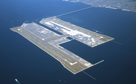 TOA CORPORATION | Works | Kansai International Airport: https://www.toa-const.co.jp/eng/works/list106